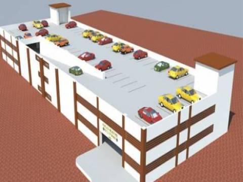 Antalya Kumluca'da 4 katlı otopark inşa edilecek!