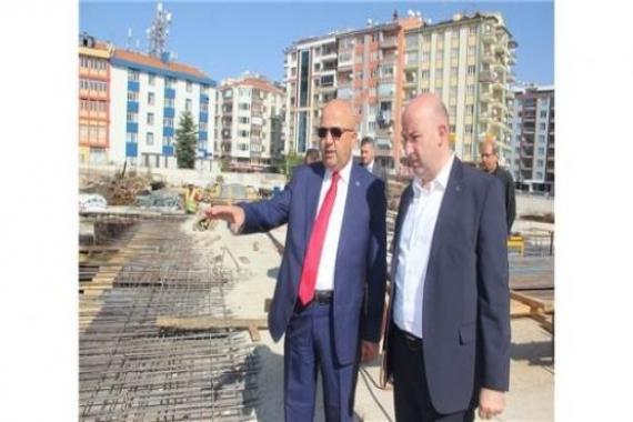 Afyonkarahisar Kent Meydanı inşaatının yüzde 70'i tamam!