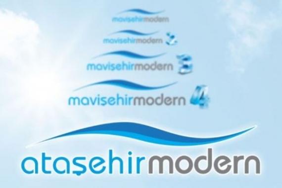 İzmir Ataşehir Modern satış ofisi!