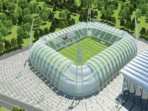 Akhisar Arena'da inşaat çalışmaları sürüyor!