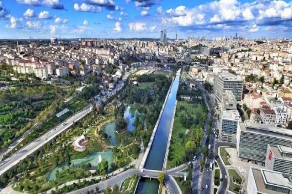 İBB'den Kağıthane'de satılık toplu konut imarlı arsa!