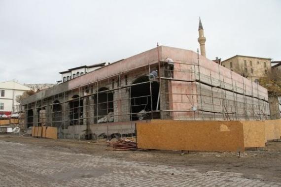 Beypazarı Belediyesi yeni iş yerlerinin inşaat çalışması sürüyor!