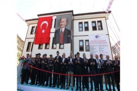 Safranbolu Yeni İtfaiye Binası açıldı!