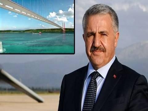 1915 Çanakkale Köprüsü'nden ilk kareler!