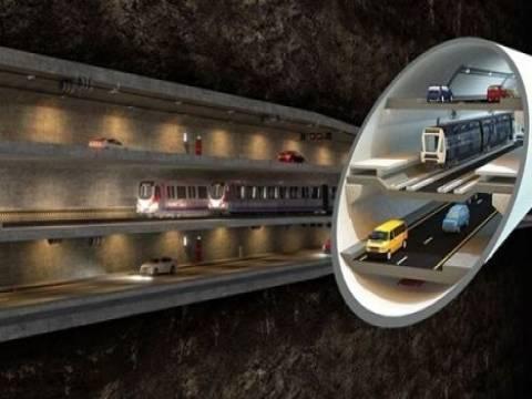 3 Katlı Büyük İstanbul Tüneli ihalesine 4 firmadan teklif!
