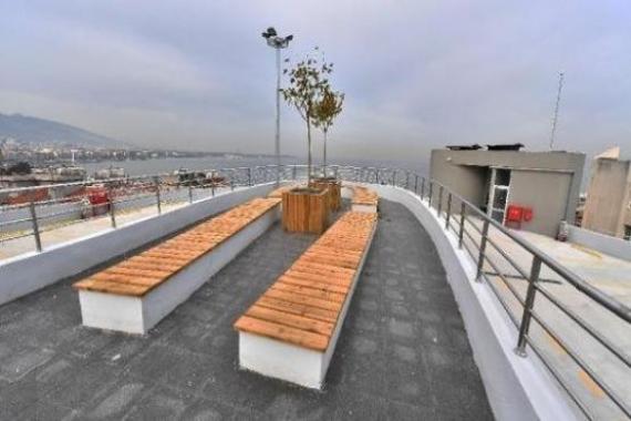 İzmir Hatay'daki 8 katlı otopark açılacak!