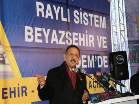 Kayseri'de Beyazşehir-İldem raylı sistem hattı hizmete açıldı!