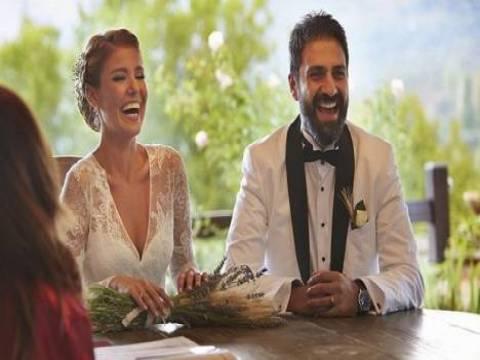 Gülben Ergen ve Erhan Çelik farklı evlerde oturuyor!