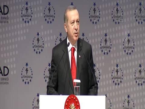 Cumhurbaşkanı Erdoğan: İnşaat sektörü olmadan bir ülkede kalkınma olmaz!