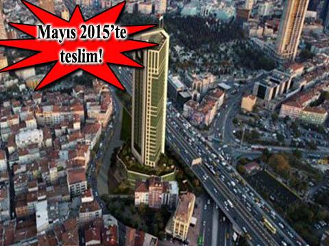 Nurol Tower'a 18 daire, 23 dükkan ve 10 ofis daha eklenecek!
