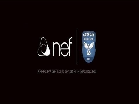 Karaçay Gençlik Spor'a NEF sponsor oldu!
