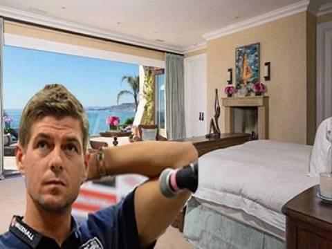 Steven Gerrard 23 milyon Euro'ya ev satın aldı!