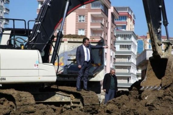 Samsun Atakum'da inşaat çalışmaları tam gaz devam ediyor!