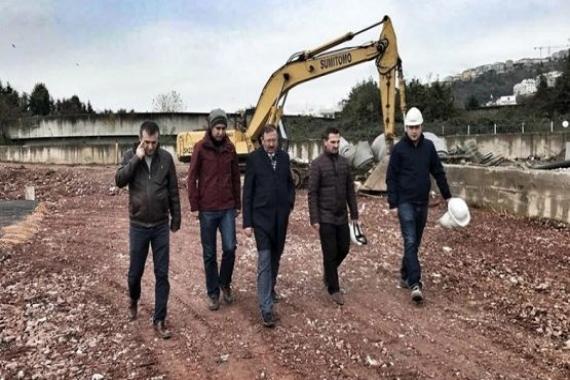 Sekapark Kongre Merkezi'nin inşaatı devam ediyor!