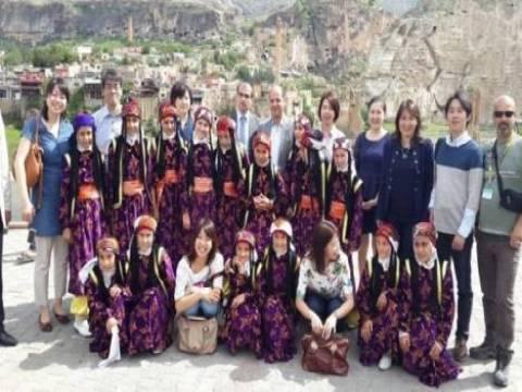 Japon tur operatörleri İzmir'in turistik yerlerini gezdi!