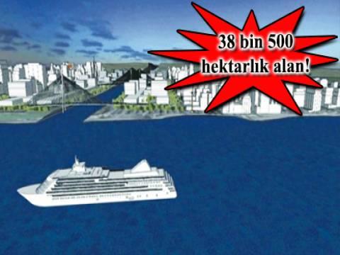 Kanal İstanbul'un imar planlarını İBB hazırlayacak!