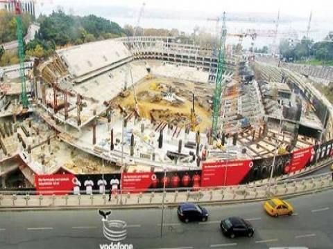 Vodafone Arena inşaatı son durum!
