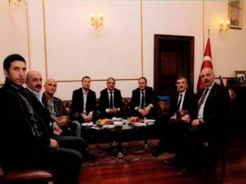İlhan Kartal'dan, Murat Aydın'a ziyaret!