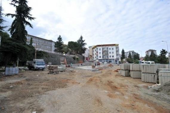 Trabzon Bahçecik'e yeni otopark yapılıyor!