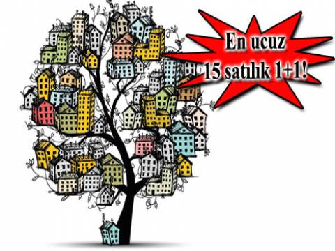 En ucuz 1+1 satılık daire İstanbul!