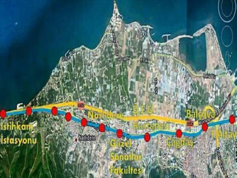 Narlıdere metro hattının ihalesi 17 Nisan'a ertelendi!