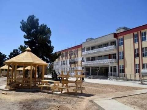 TİKA Afganistan'da okul yaptıracak!