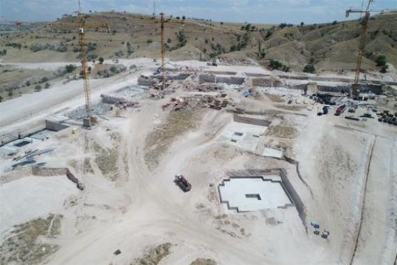 TOKİ Nevşehir Konutları'nın inşaatı devam ediyor!