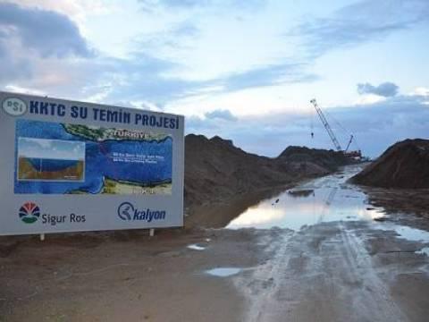 Alaköprü Barajı'nın inşaatı 7 Mart'ta bitecek!
