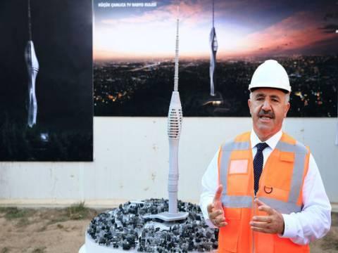 Küçük Çamlıca TV -Radyo Kulesi 2017 Haziran'da açılacak!
