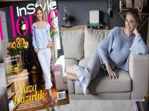 Esra Eron'un Ulus'taki evinin kapılarını InStyle Home'a açtı!