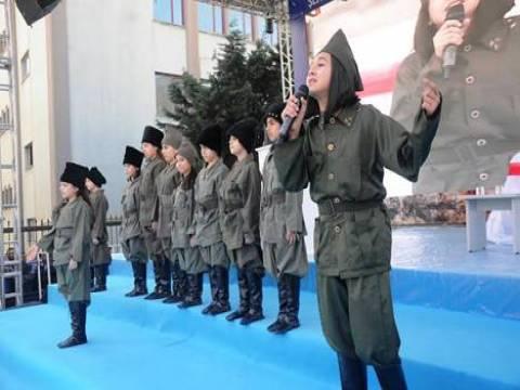 Bağcılar'da işaret diliyle İstiklal Marşı okuma etkinliği!