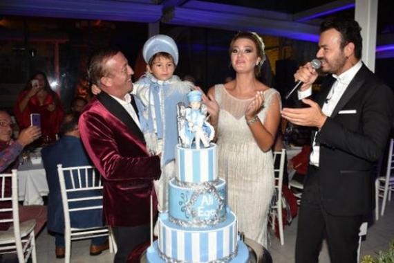 Ali Ağaoğlu'nun oğlu Ali Ege için sünnet töreni yapıldı!