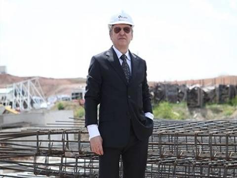 Memduh Türkoğlu: Türkiye'de gelişimin ana motoru inşaat!