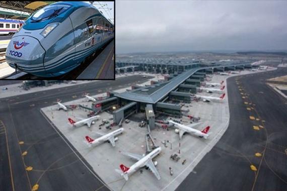 3. Havalimanı-Çatalca Demiryolu için ilk adım atıldı!