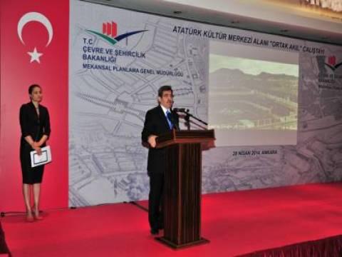 Bakanlık Ankara Atatürk Kültür Merkezi Alanı için çalıştay düzenledi!