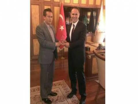 İlhan Kartal'dan Başkan Ali Şadi Yazıcı'ya ziyaret!