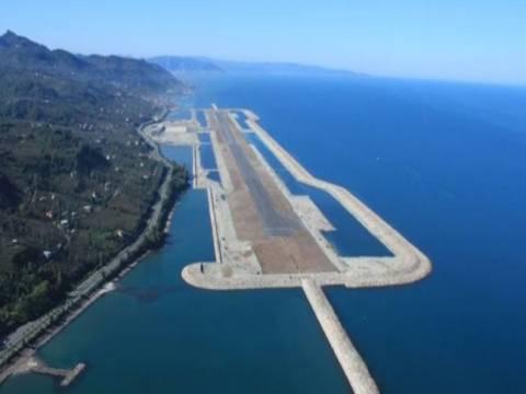 Rize Havalimanı ihalesinin kazananı Cengiz İnşaat!