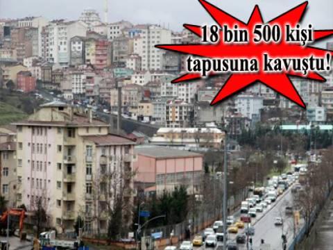 Kağıthane, Çağlayan ve Hürriyet'te 50 yıllık tapu davası sonuçlandı!