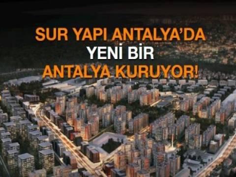 Sur Yapı Antalya daire ve dükkan fiyatları ne kadar?