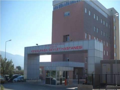 Kemalpaşa Devlet Hastanesi ek binası Mayıs'ta hizmete giriyor!