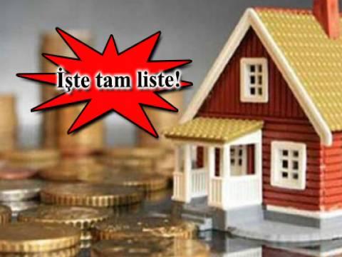 2014'ün en çok gayrimenkul vergisi ödeyenleri açıklandı!