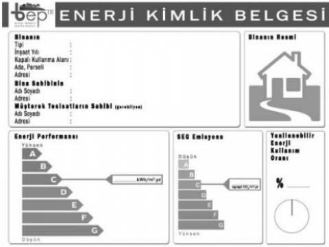 Enerji kimlik belgesi için neler gerekli?