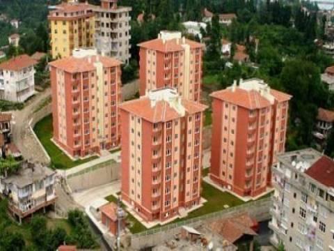 TOKİ Trabzon Bahçecik'te 2 adet konut satılacak!