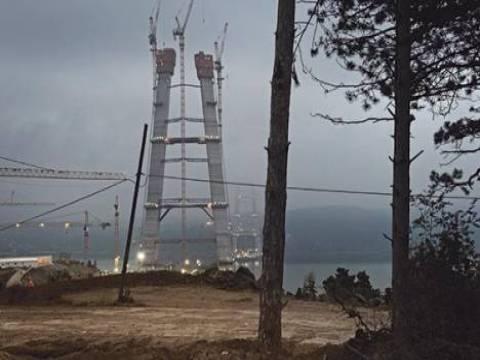 3. köprünün yapımı 24 saat kesintisiz sürüyor!