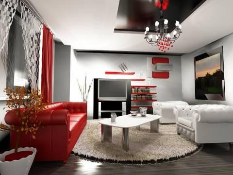 Ev dekorasyonu tarzı ahenkli olmalı!