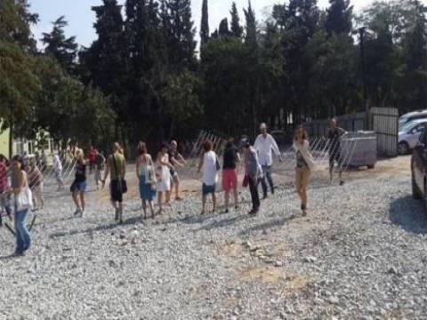 Doğal sit alanı Validebağ Korusu'nda eylem yapıldı!