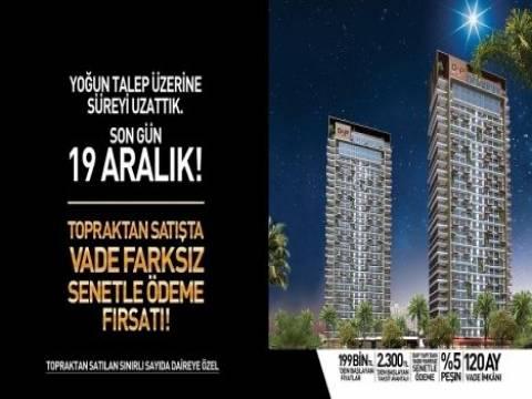 DAP Yapı İzmir'de senetle ödeme kampanyası 19 Aralık'a uzadı!