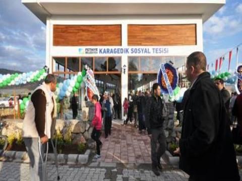 Karagedik Sosyal Tesisleri törenle hizmete açıldı!