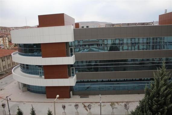 Nevşehir İl Sağlık Müdürlüğü'nün yeni binası tamamlanıyor!