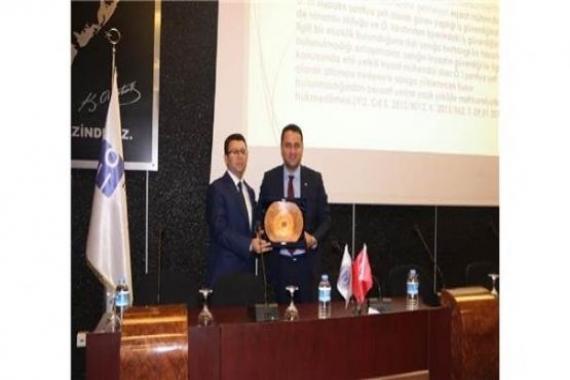 Gaziantep'te inşaat sektörü semineri gerçekleştirildi!